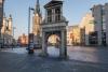 Gemeinnützige Stiftung Altes Rathaus Halle (Saale) Barockflügel-Portal des Alten Rathauses mit Denkmal-Status