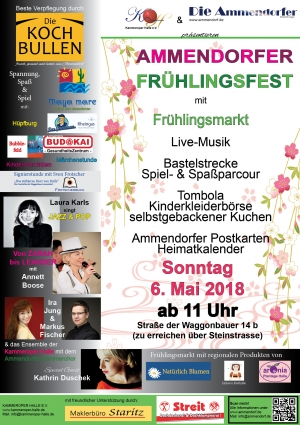 Frühlingsfest in Halle - Ammendorf am 6. Mai 2018