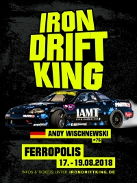 German Drift Championship 2018 - IRON DRIFT KING -