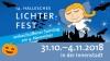 14. Halleschen Lichterfest vom 31.Oktober bis 04. November 2018 in der Innenstadt und  auf dem Marktplatz von Halle/S.
